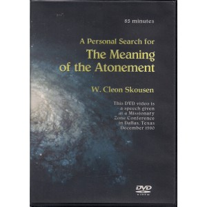 A Personal Search for The Meaning of The Atonement - DVD