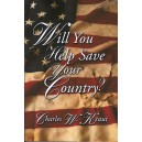 Will You Help Save Your Country?