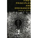 First Principles and Ordinances